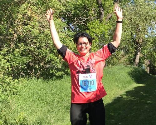 Christin M. Testemonial Taping Run