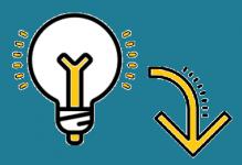 Glühbirne - Logo Wissen Taping Run